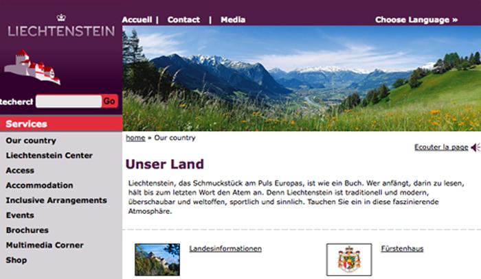 randonnée Liechtenstein