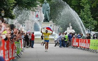 Paris colmar, épreuve de marche sportive