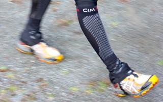 chaussettes de contention pour la marche