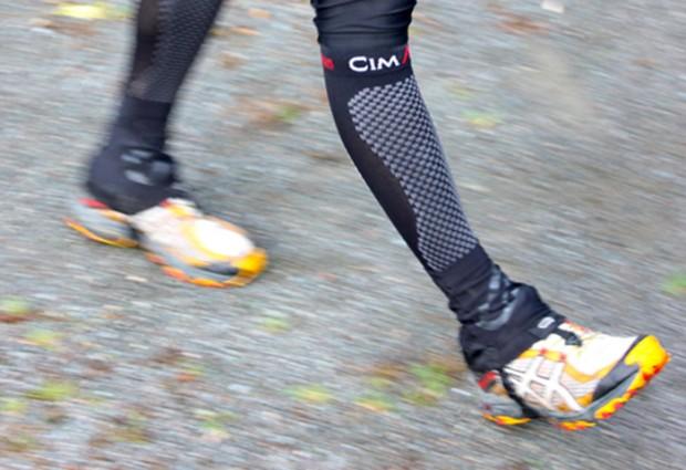 Test chaussettes de compression cimalp fini les jambes - Combien de temps porter bas de contention ...