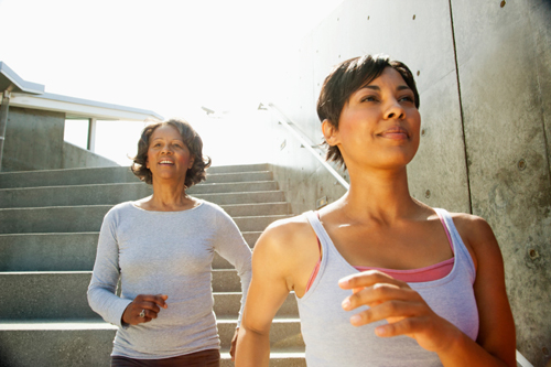 Marcher pour être en forme